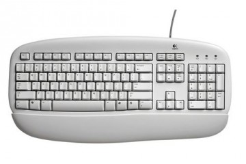 Logitech Value Keyboard / white