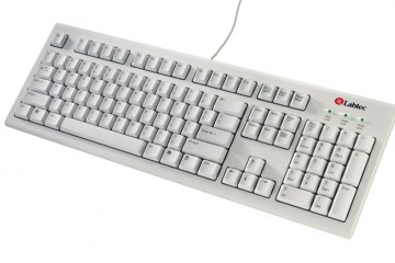 Labtec White Keyboard Plus, FR