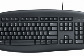 Logitech Delux Keyboard Black Turkish Layout