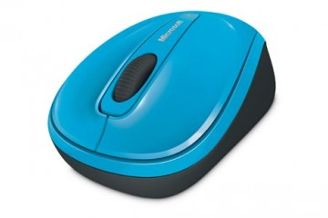 Microsoft Wireless Mobile mouse 3500, USB, ER, English, Blue, Retail