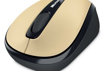 Microsoft Wireless Mobile Mouse 3500 USB ER English Gold Metal