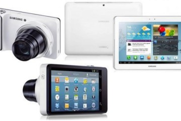 Samsung Digital Camera and Tablet