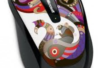 MICROSOFT Wireless Mobile Mouse 3500 Artist Chamarelli