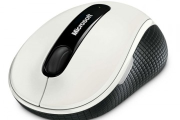 Microsoft Wireless Mobile Mouse 4000 USB BlueTrack English White Retail