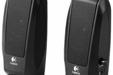 S120 Logitech Speakers Black