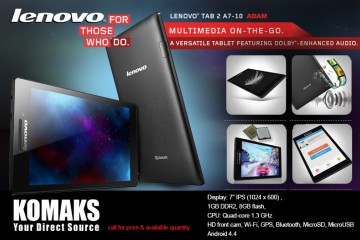 SOUD OUT! LENOVO TAB 2 A7-10 ADAM