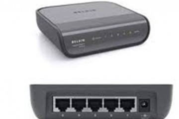 Belkin 5-Port Gigabit Switch F5D5141uk5