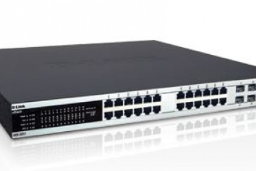 "D-LINK xStack DXS-3227 24-PORT GIGABIT Layer 2+ Managed ""WIRELESS-READY"" SWITCH + (4) COMBO SFP PORTS + (1) FIXED XFP PORT + (2) OPTIONAL 10-GIG COPPER/FIBER UPLINKS"