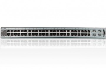 "D-LINK DXS-3250 48-PORT GIGABIT L2+ Managed ""WIRELESS-READY"" SWITCH + (4) COMBO SFP PORTS + (2) OPTIONAL 10-GIG COPPER/FIBER UPLINKS"